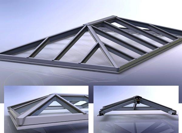 Kestrel thermal roof lantern system WINDOWS